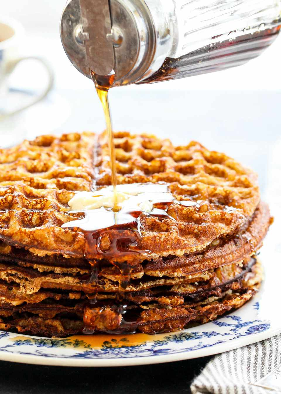 Gluten-Free Almond Flour Waffles