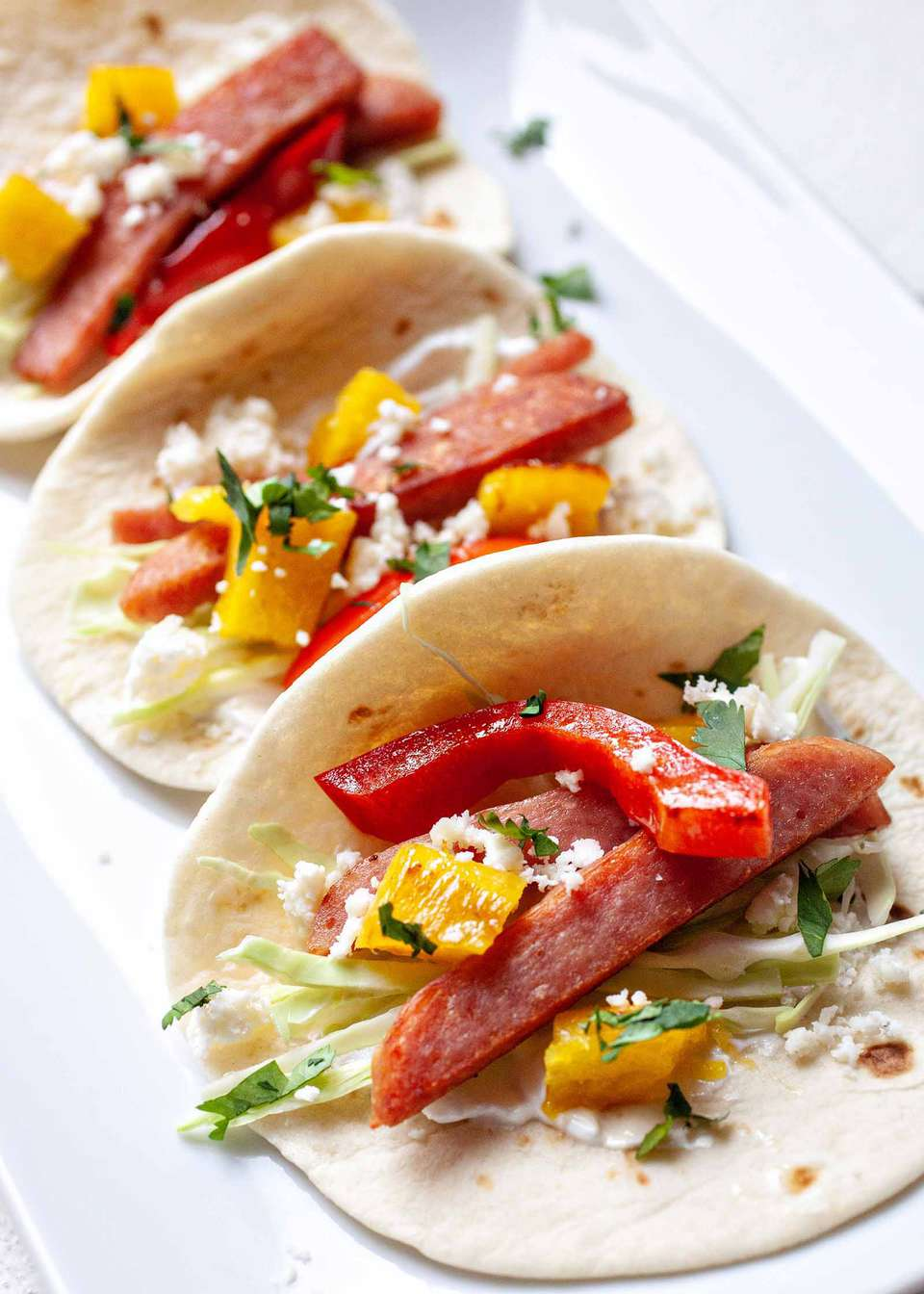 Hawaiian Spam Tacos