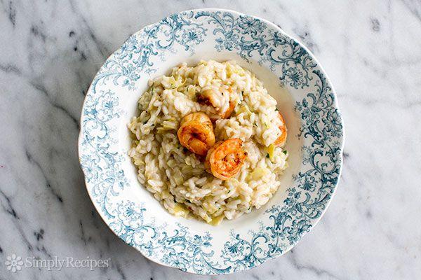 Artichoke Shrimp Risotto