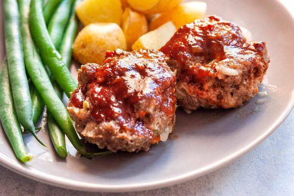 Meatloaf Bites Baked in Oven