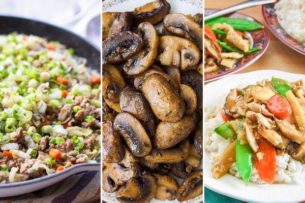 10 Recipes to use up a carton of mushrooms