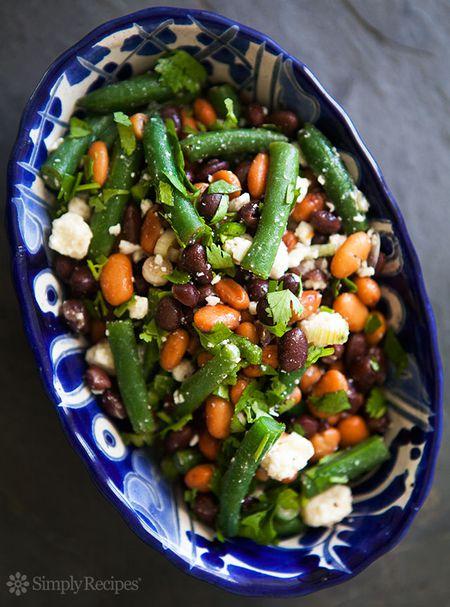 Mexican Three Bean Salad Recipes