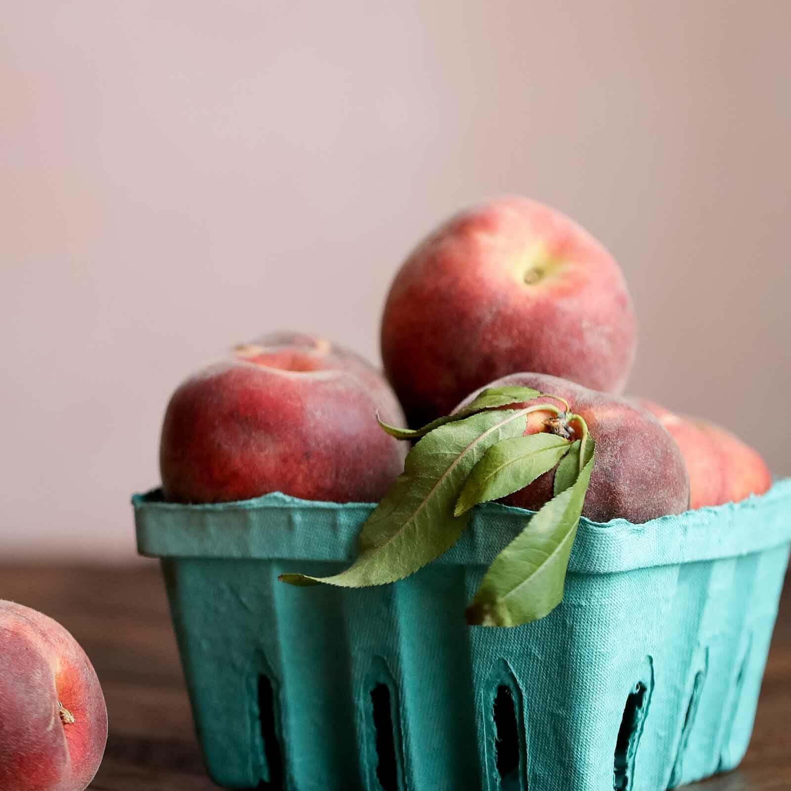 Crisp recipe with peaches