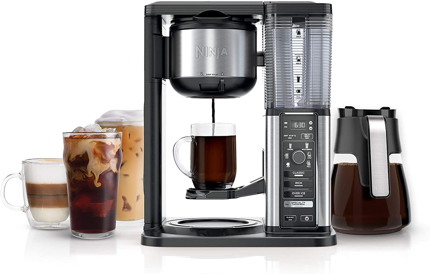 Ninja CM401 Specialty Coffee Maker with Glass Carafe