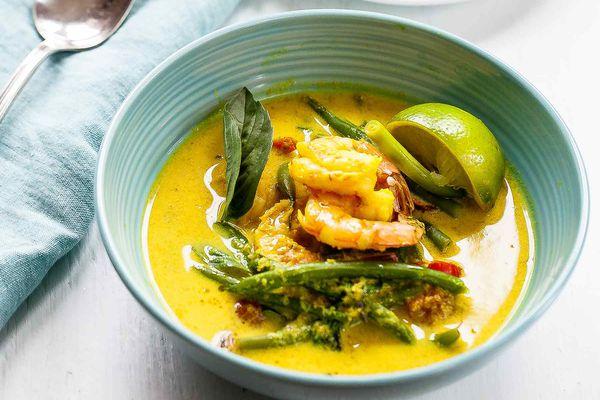 Coconut Shrimp Soup from Cambodia