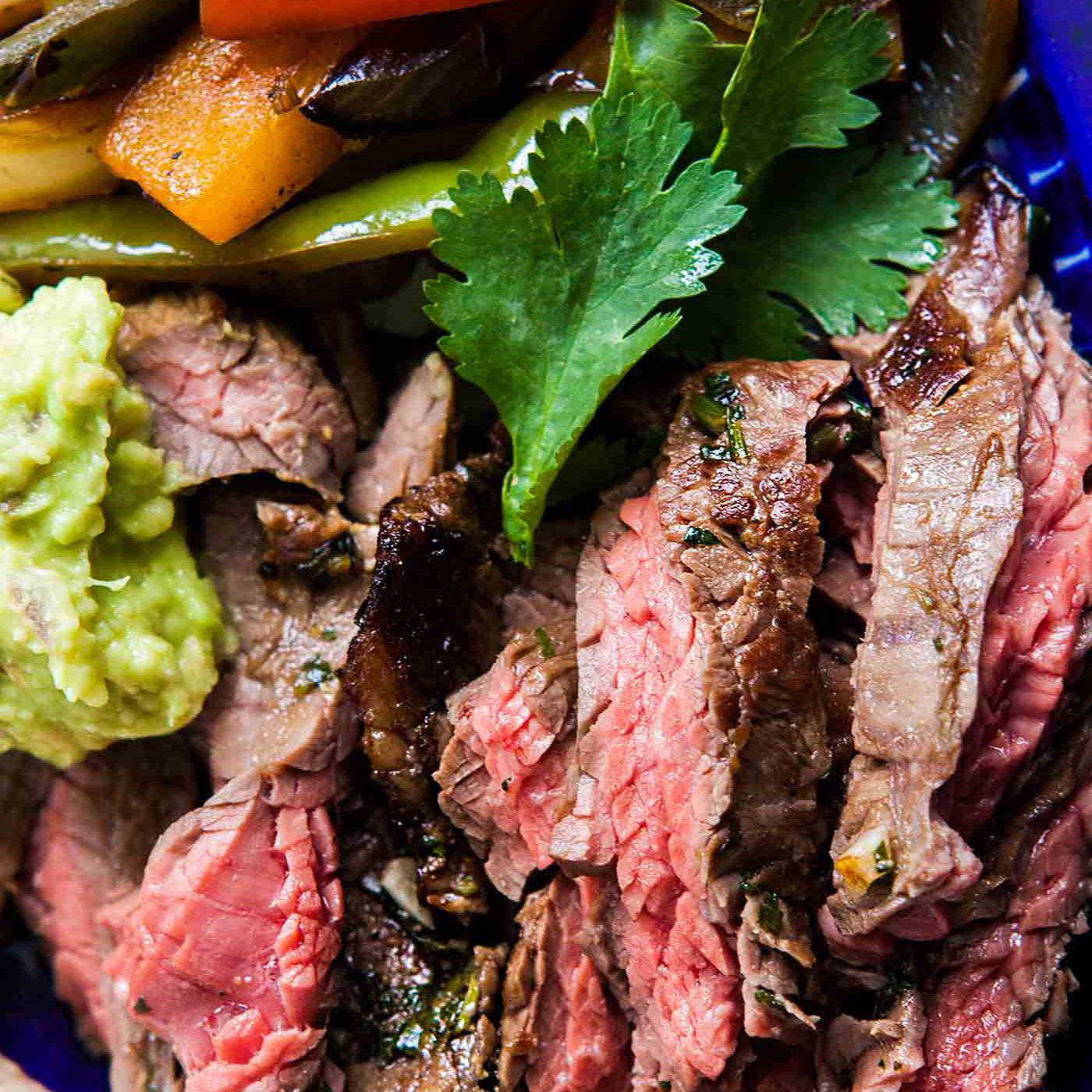 Beef Steak Fajitas Recipe