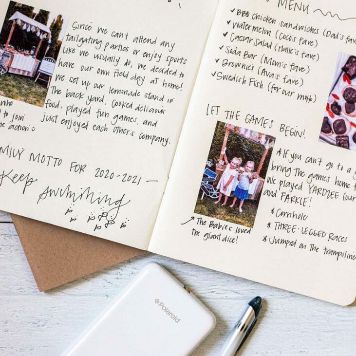 Journal for family field day