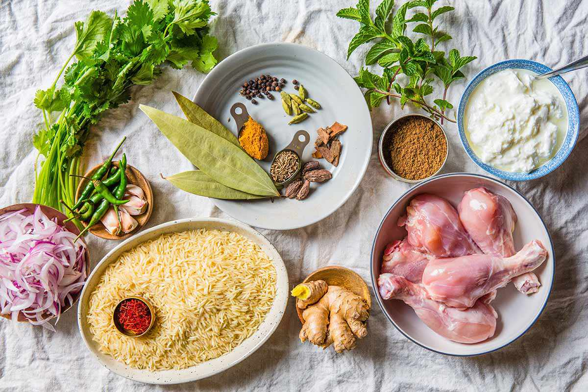 Easy Biryani with Chicken