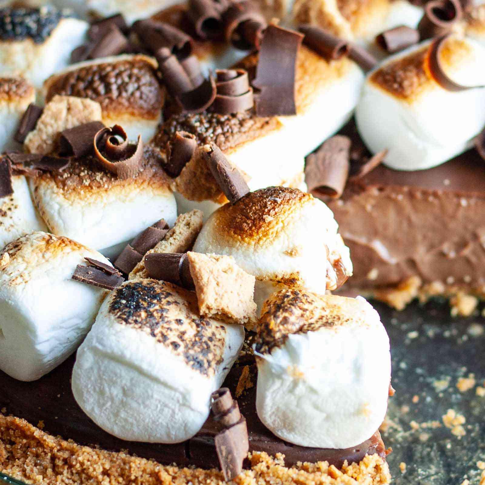 S'mores Pudding Pie