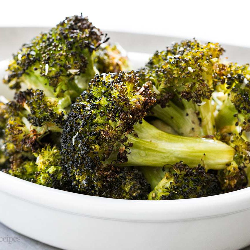 Roasted Broccoli With Parmesan Recipe