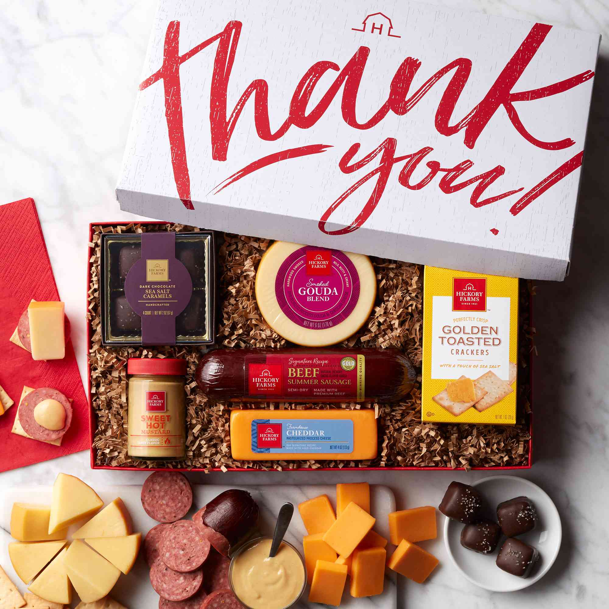 Hickory Farms Thank You Treats Gift Box