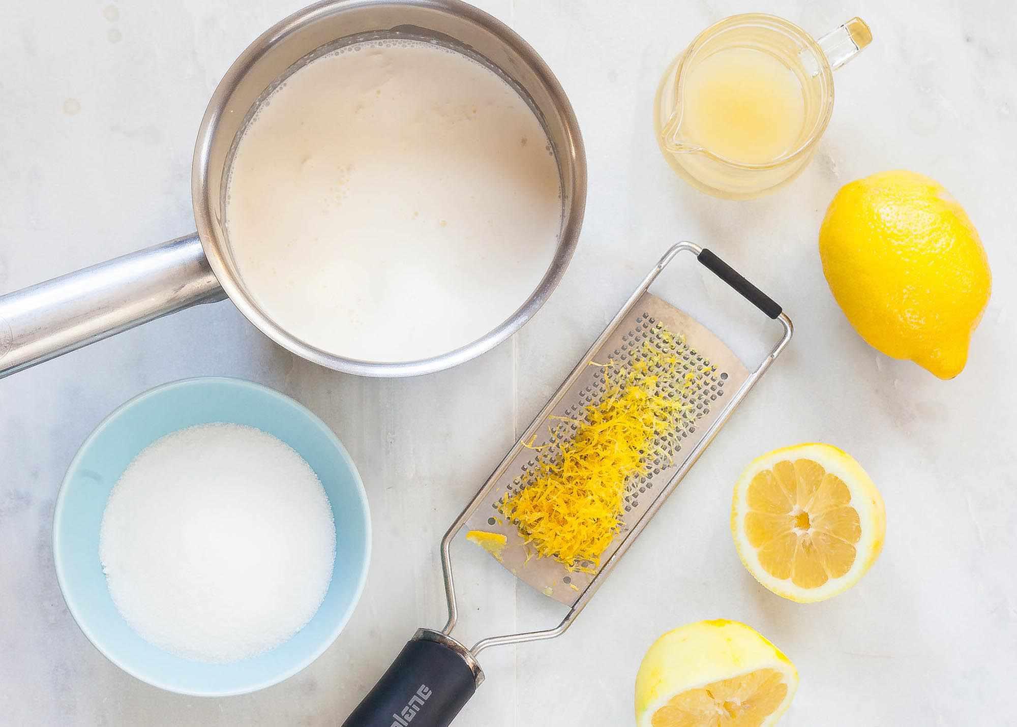Easy Lemon Pudding