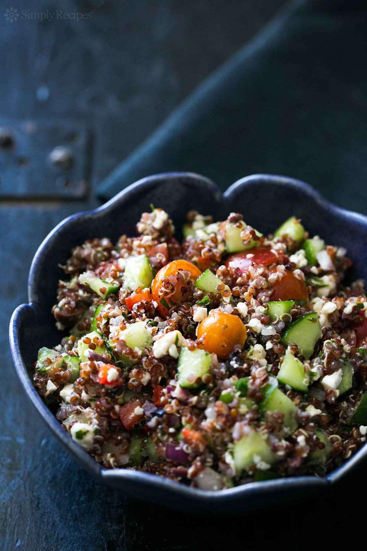 Quinoa Greek Salad