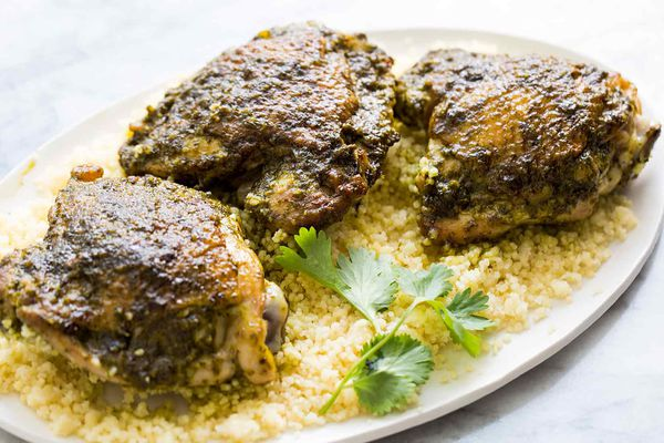 Skillet Chermoula Chicken