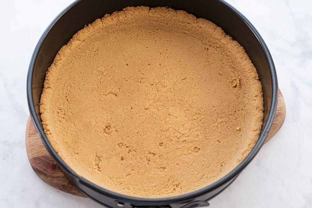 Masterchef Banoffee Cheesecake - baked cheesecake with no toppings