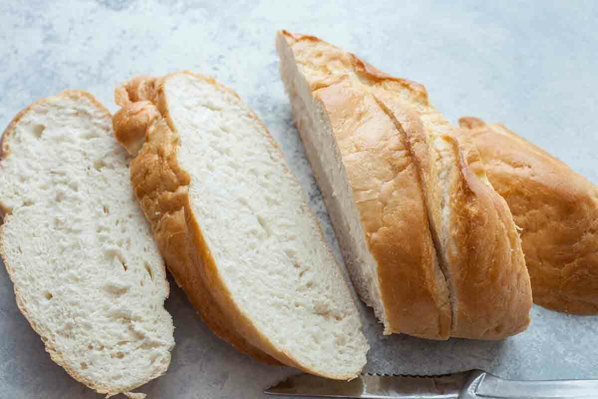Stuffed French Toast Recipe slice the bread