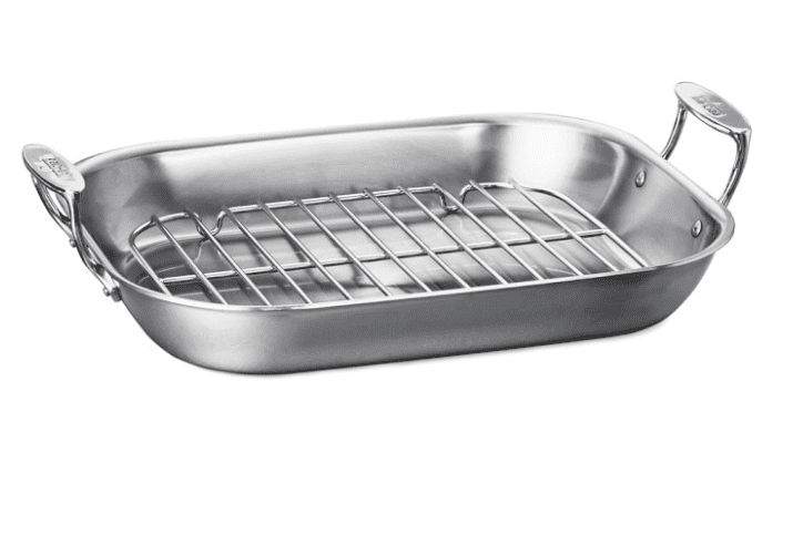 Williams Sonoma All-Clad Stainless-Steel Flared Roasting Pan