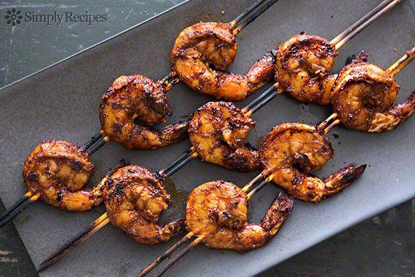 Smoky Paprika Shrimp Skewers