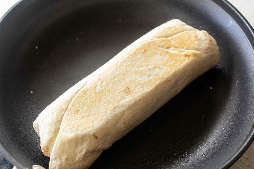 How to reheat frozen chicken burritos