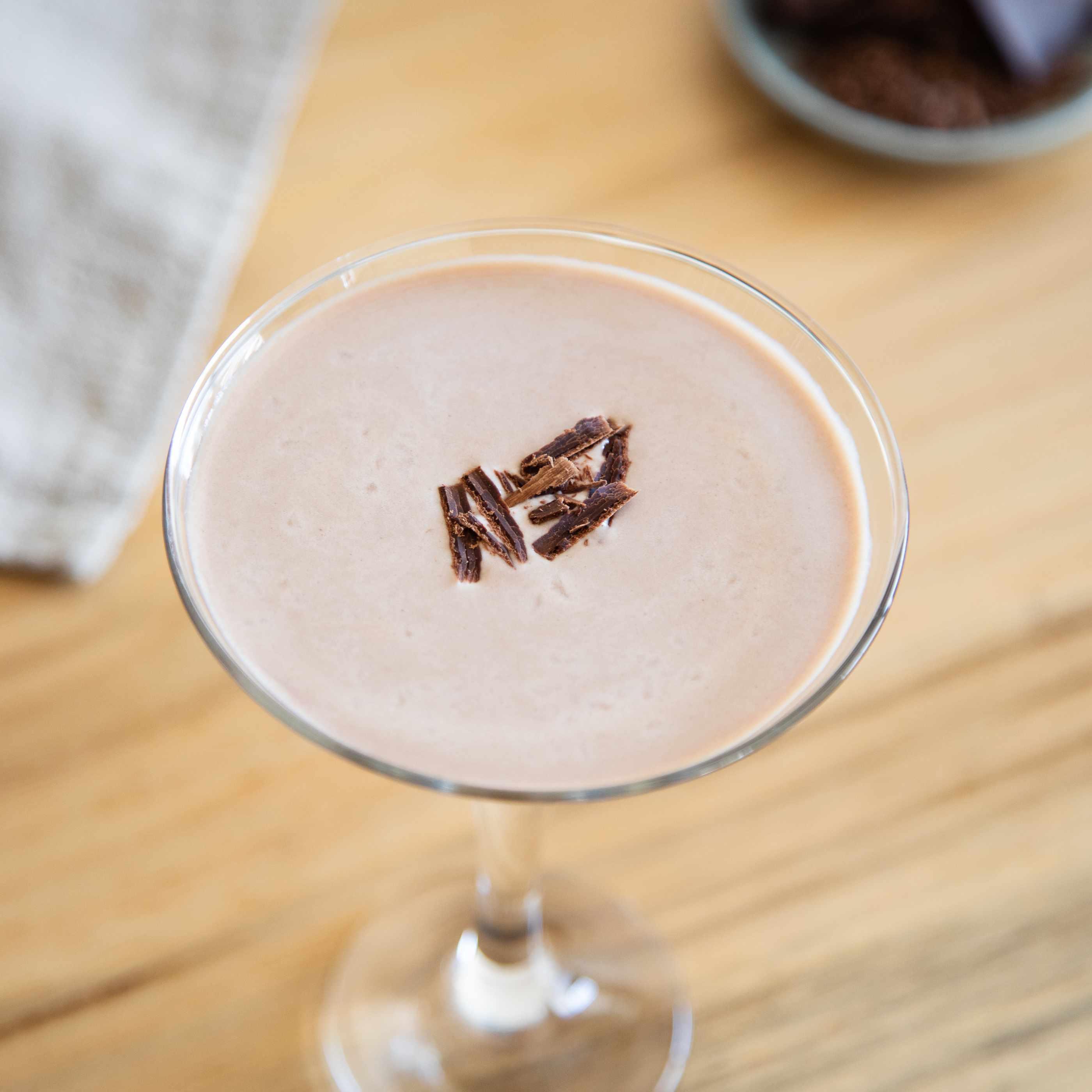 Chocolate Martini with Vodka