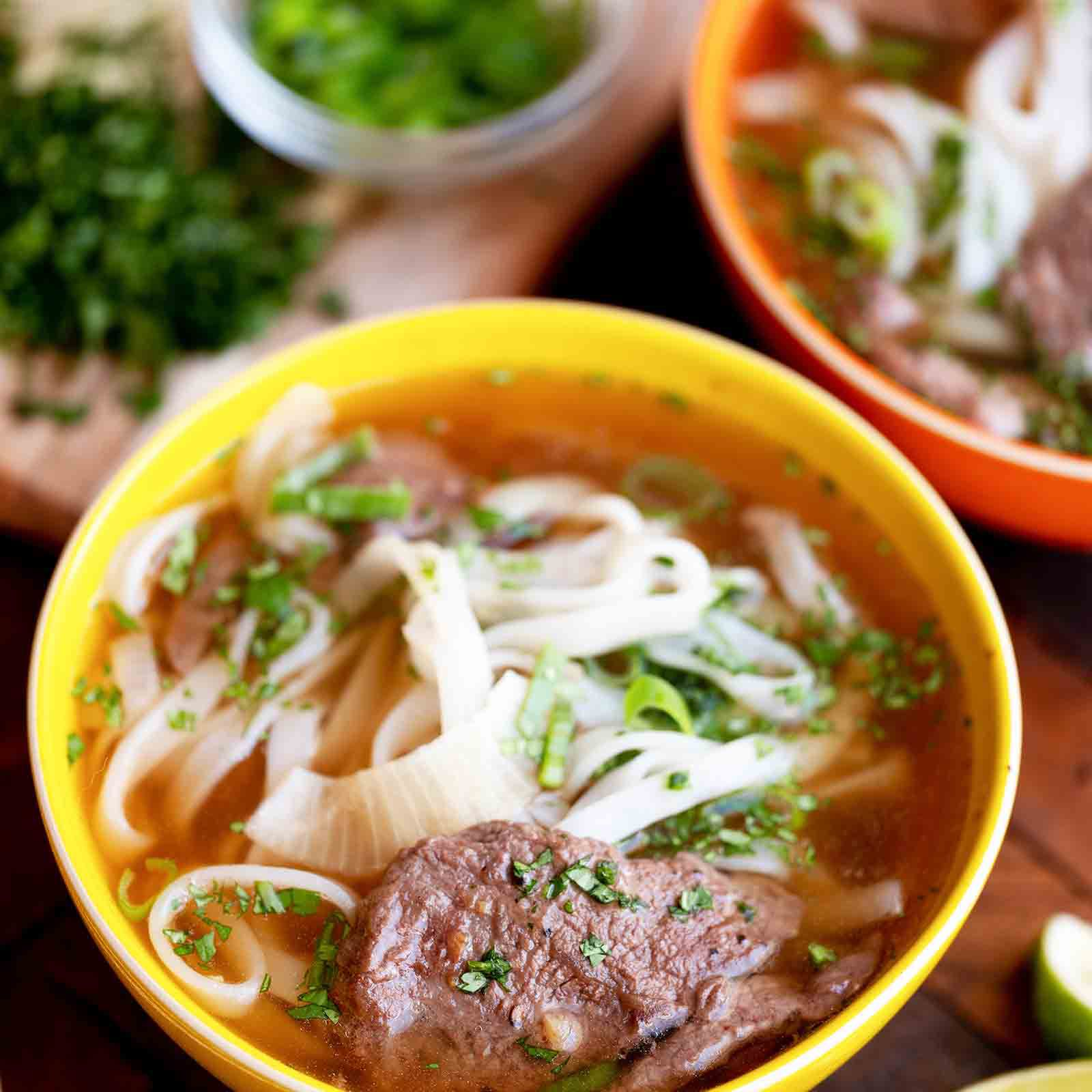 Easy Wok Kissed Beef Pho Recipe