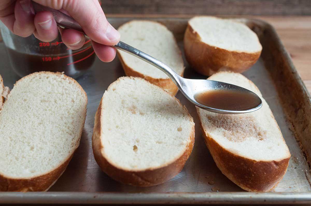 Sous Vide French Dip Sandwiches
