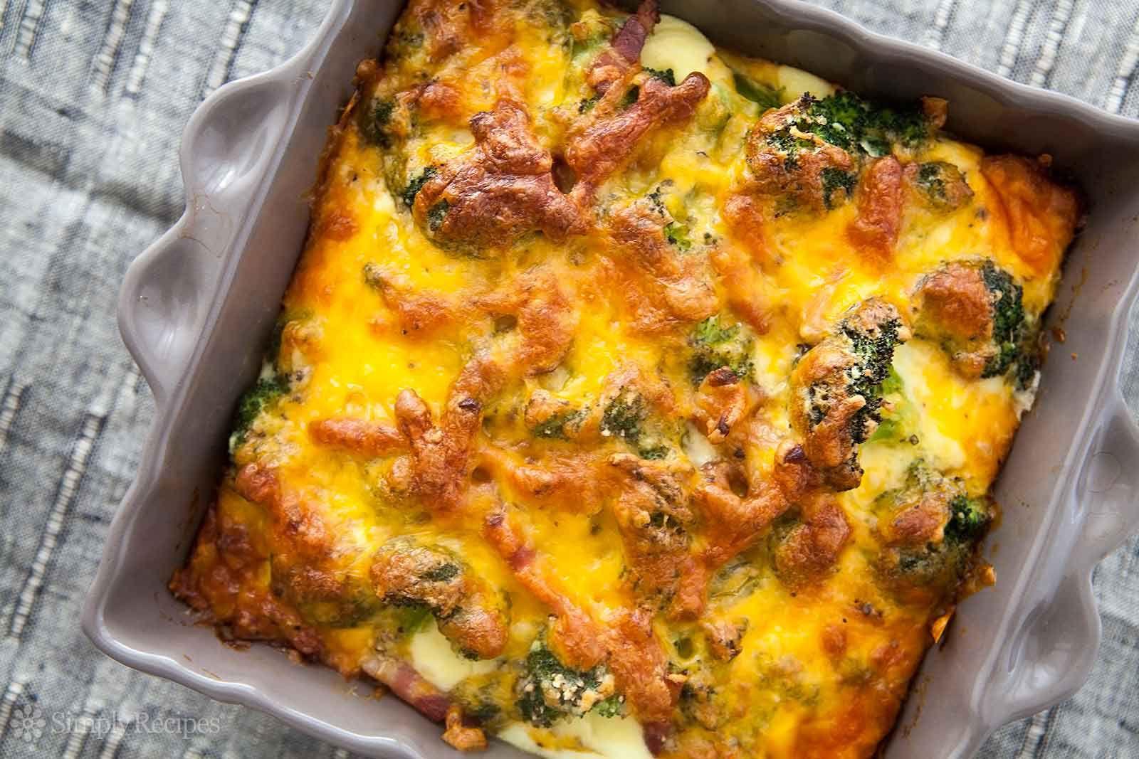 Broccoli Cheese Casserole - an easy broccoli casserole you'll love!