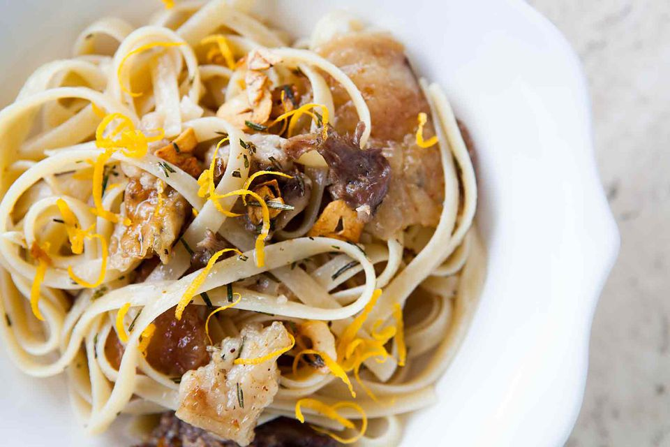 Pasta with Duck Confit