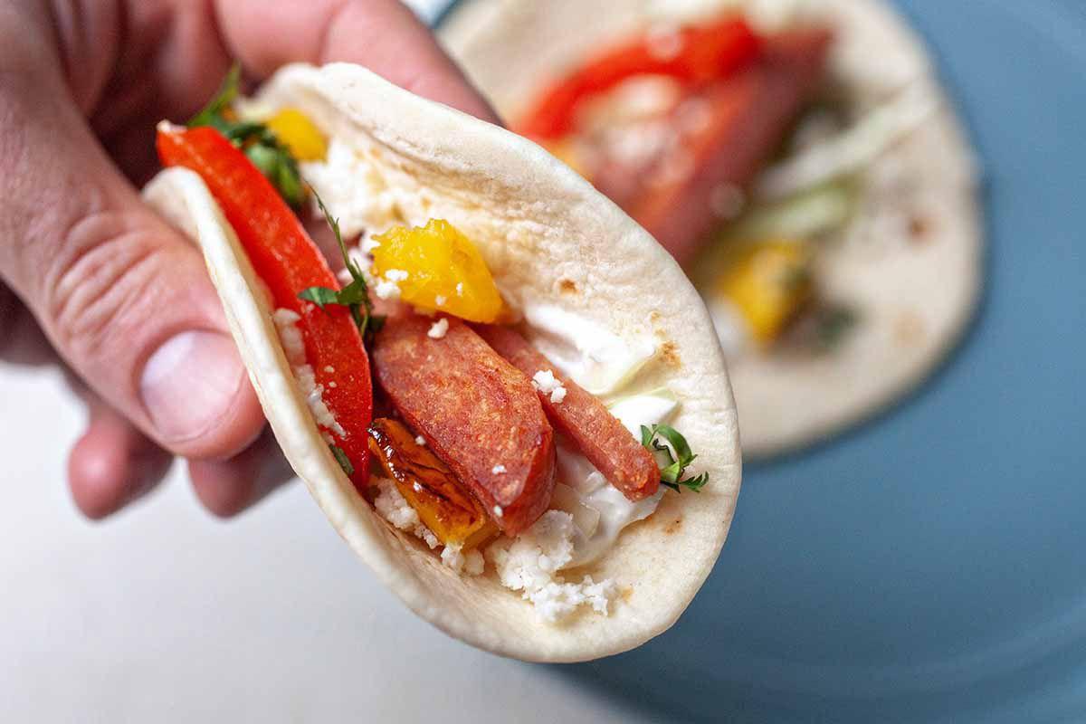 Hawaiian spam tacos recipe