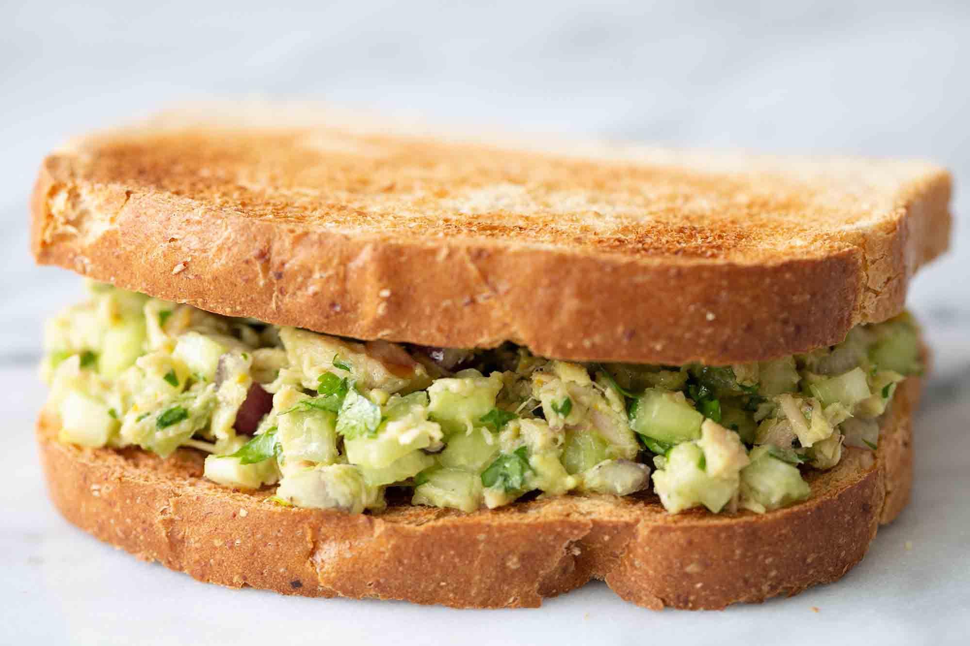 Avocado Tuna Salad Recipes Easy