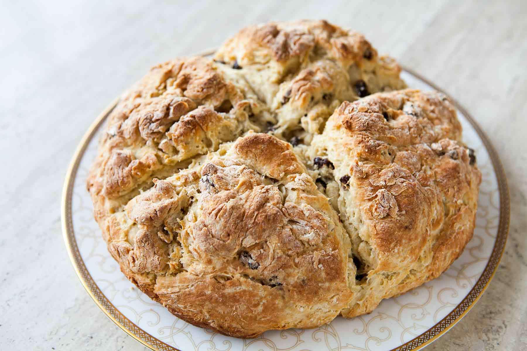 Cross in Irish Soda Bread