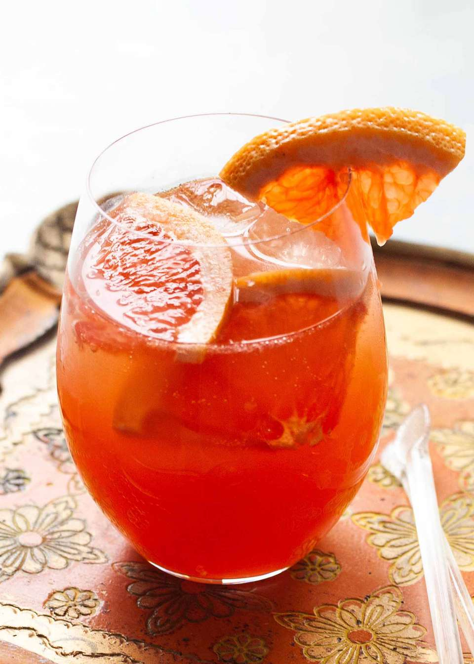 White Wine Sangria with Apricots