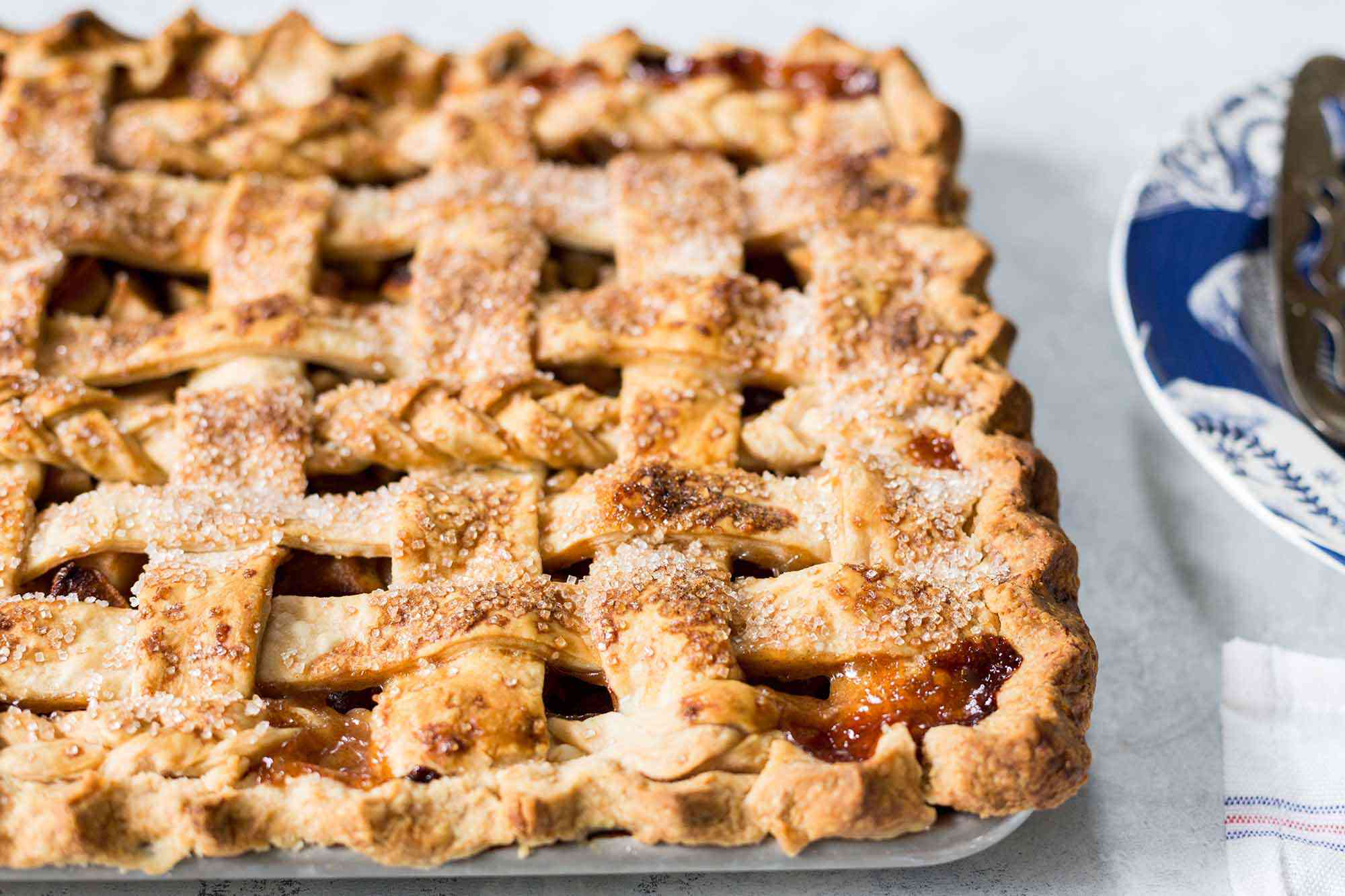 How to make an Apple Slab Pie