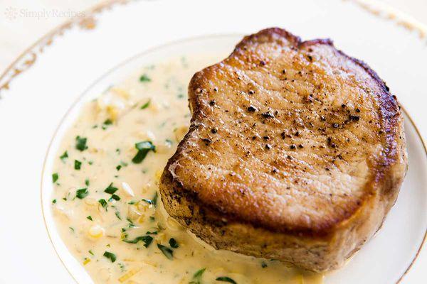 Pork Chops Dijon Mustard Sauce