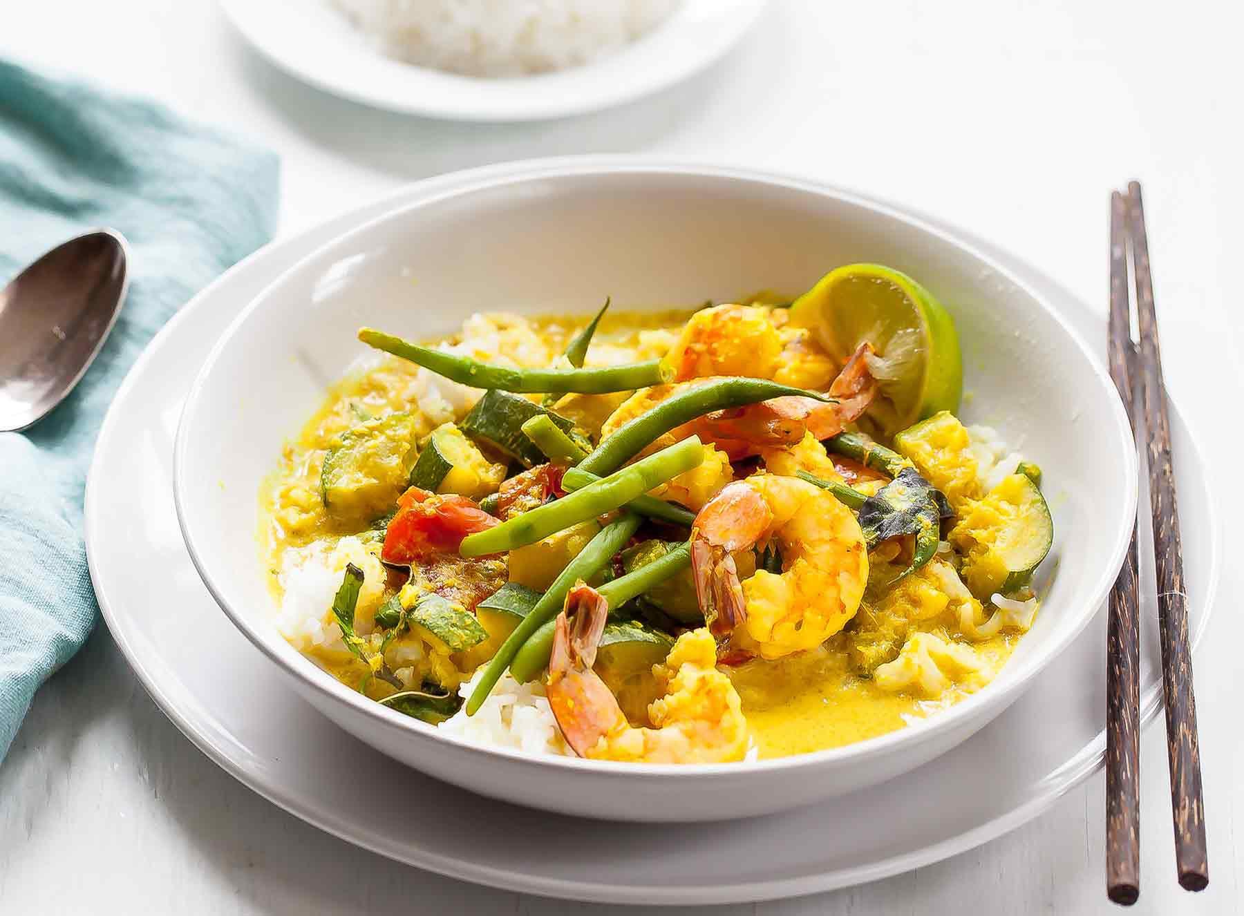 Coconut Shrimp Soup
