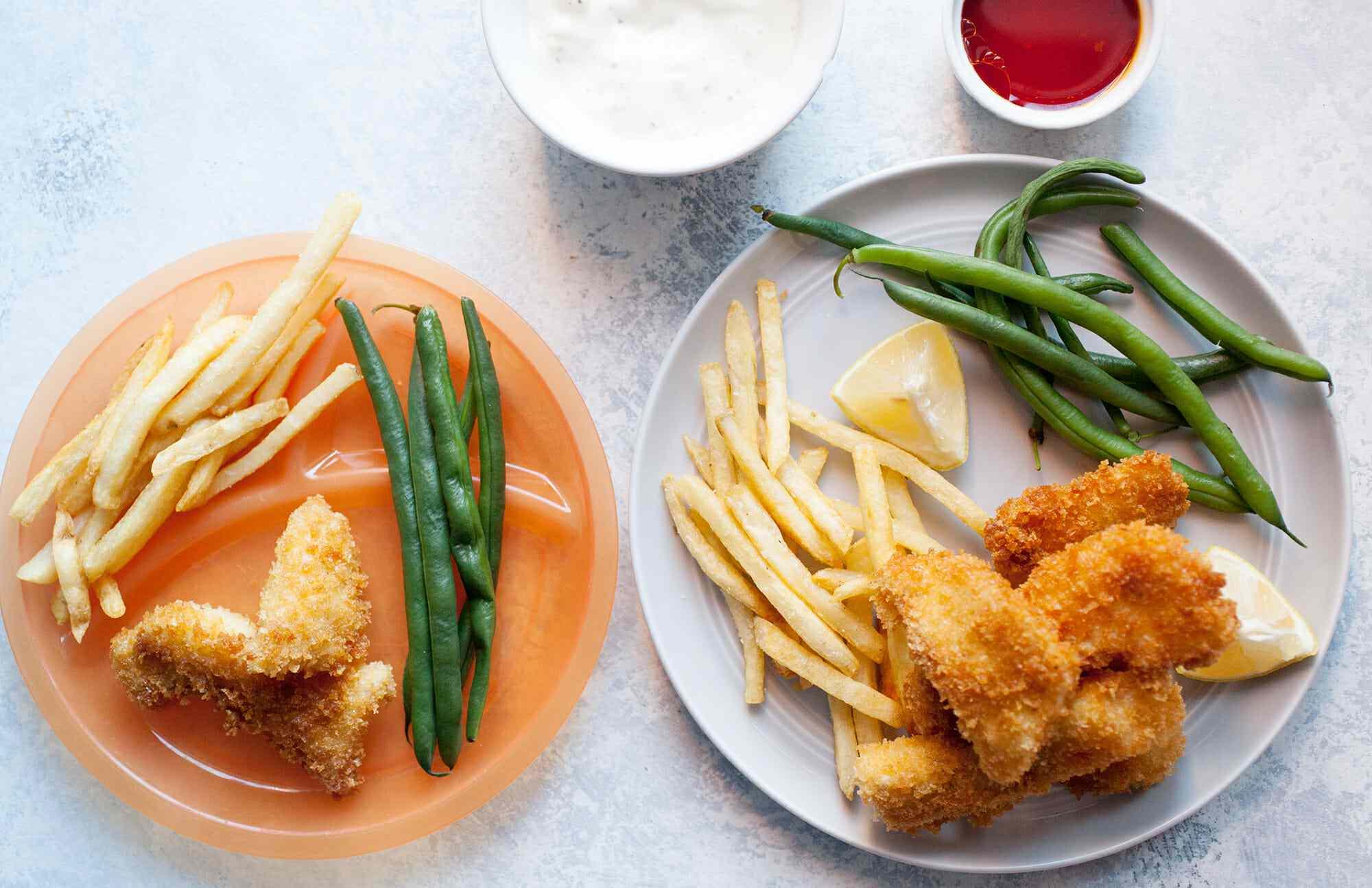 Deep Fried Fish Sticks Recipe