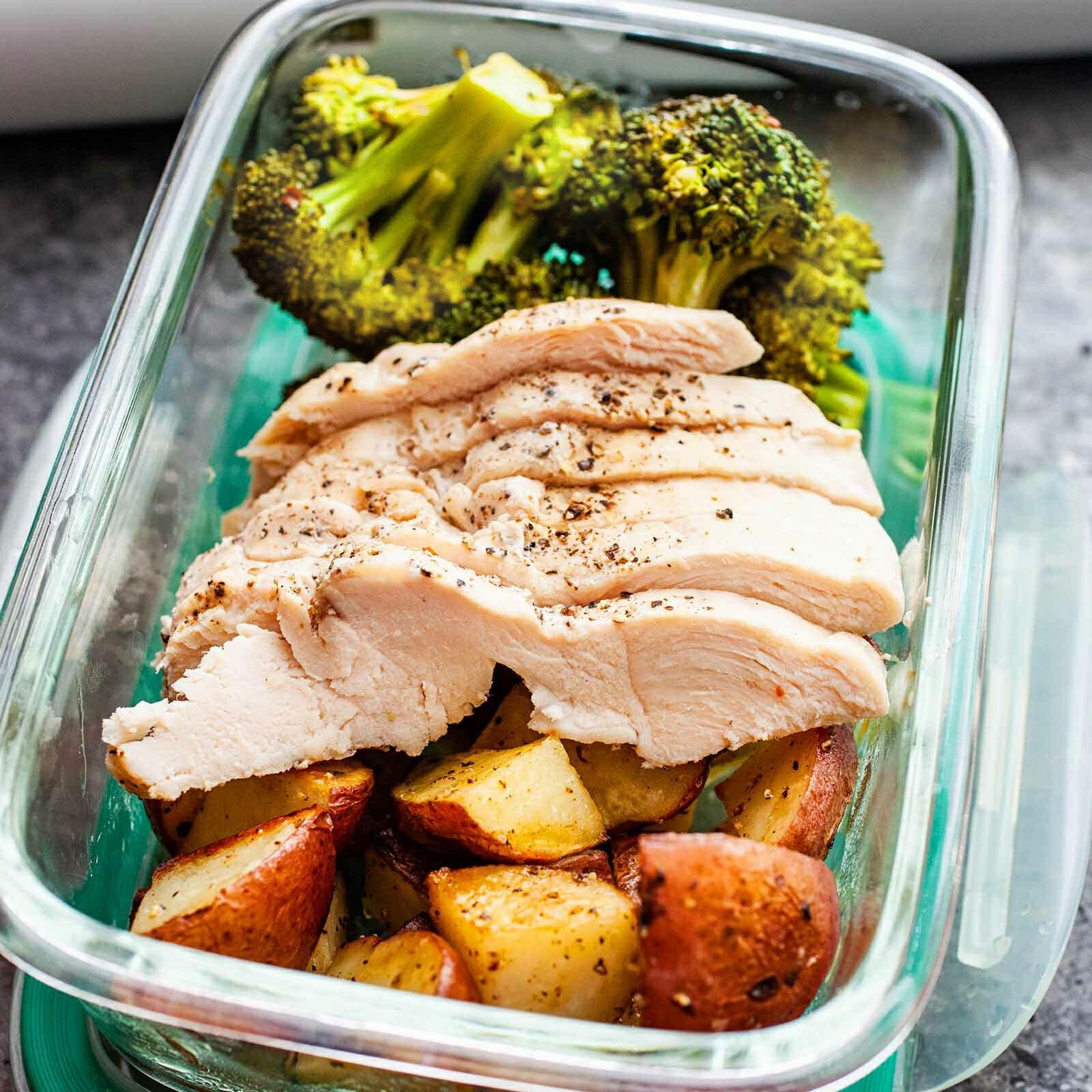 Sous Vide Chicken And Broccoli Recipe