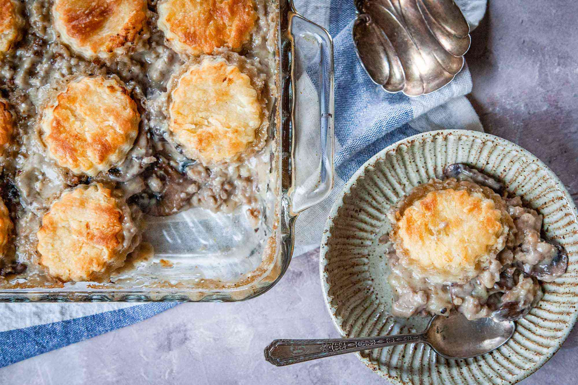 Biscuits and Gravy Bake