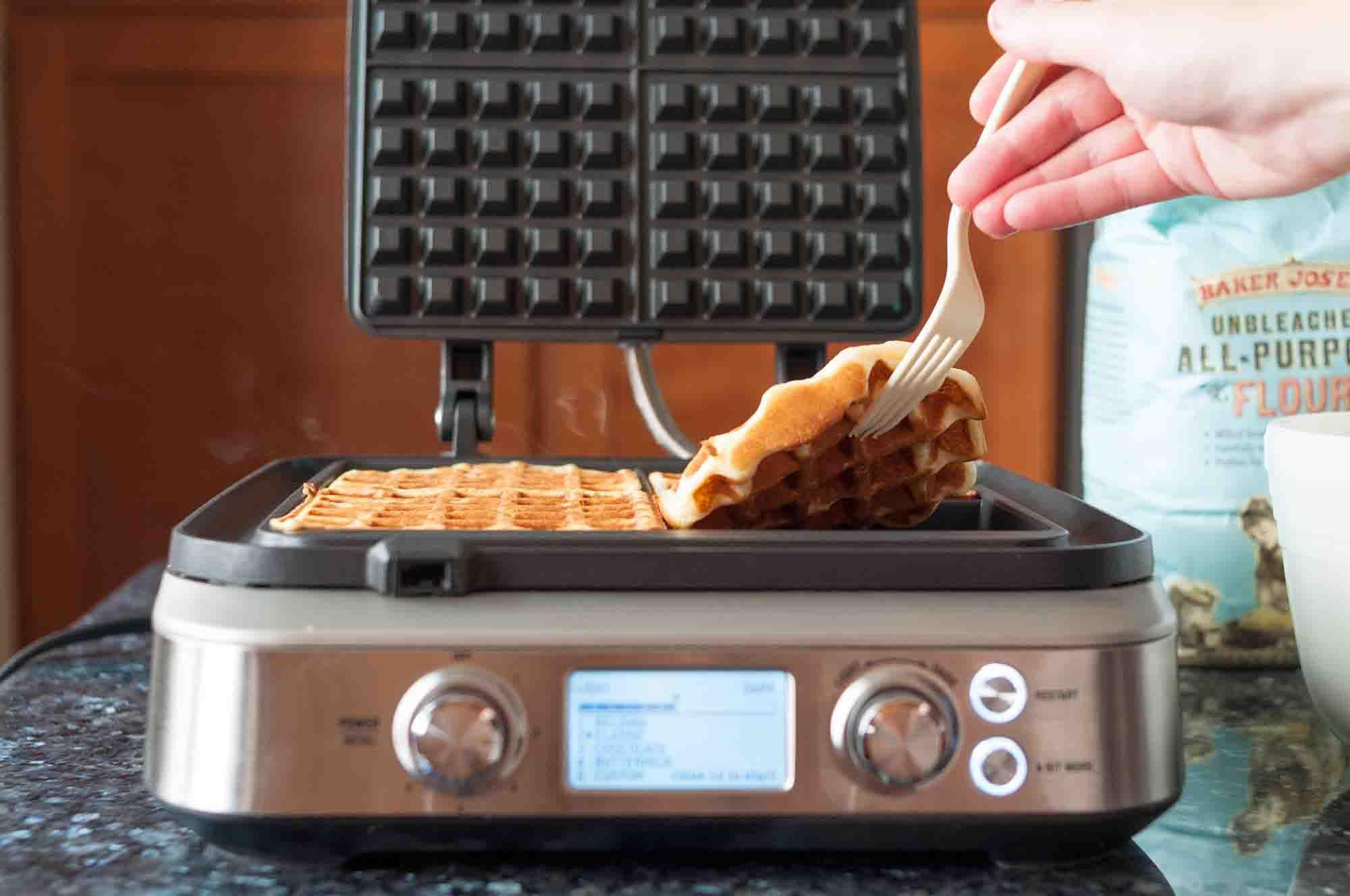 Easy Waffle Recipe for Buttermilk Waffles