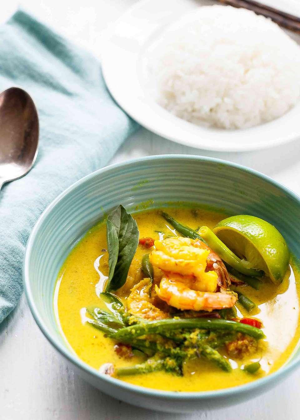 Cambodian Coconut Shrimp Soup