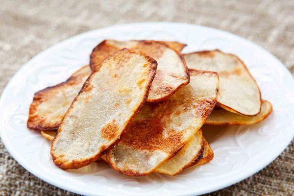 oven fried potato chips