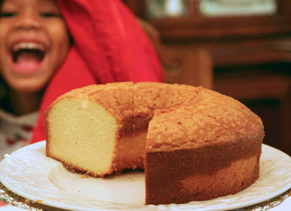 Mrs. Adams Delicious Pound Cake