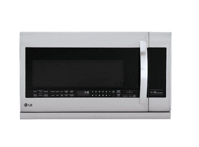 LG 2.2 cu. ft. Over the Range Microwave in Stainless Steel with Sensor Cook and ExtendaVent