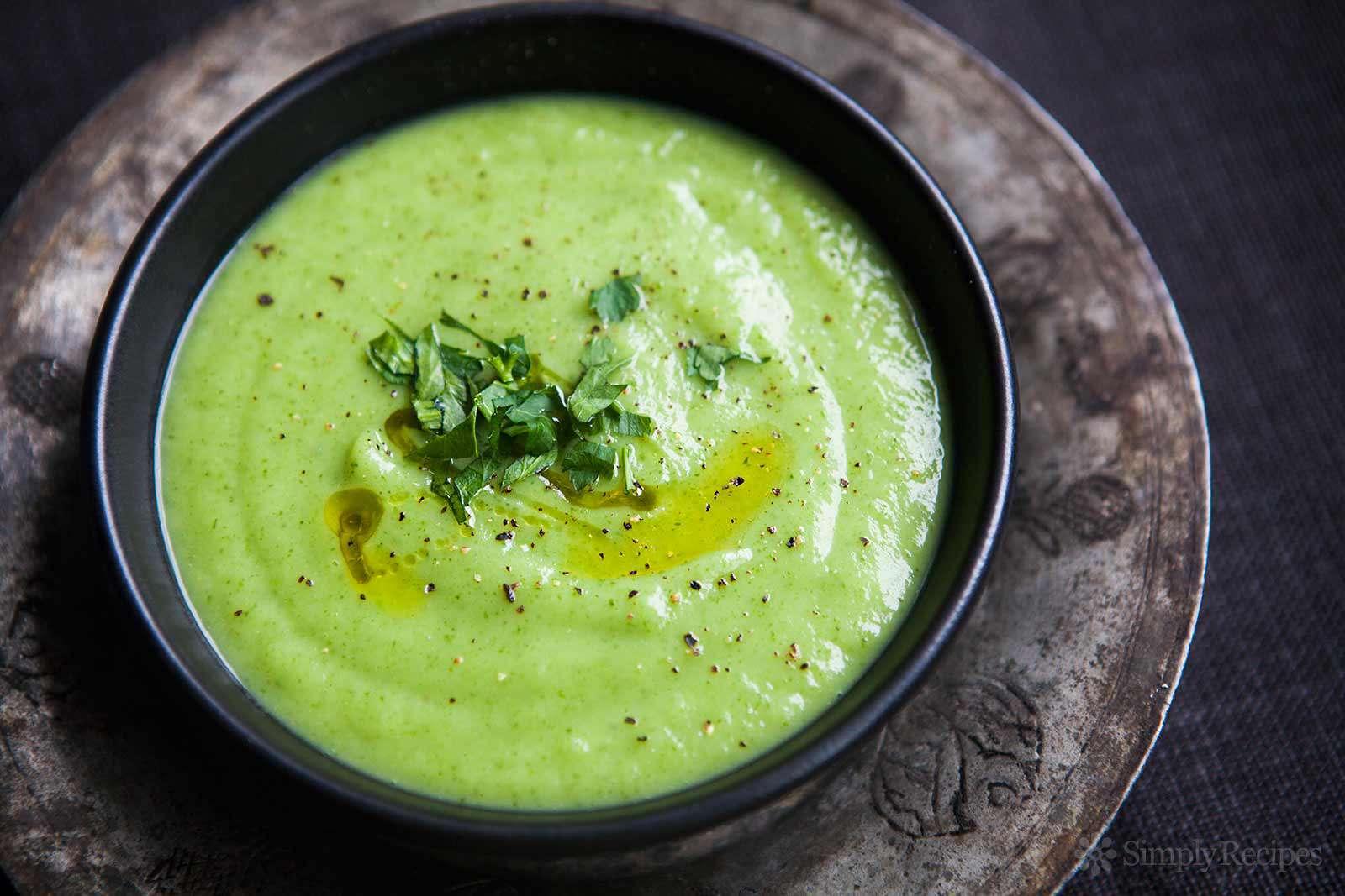 Parsnip Parsley Soup