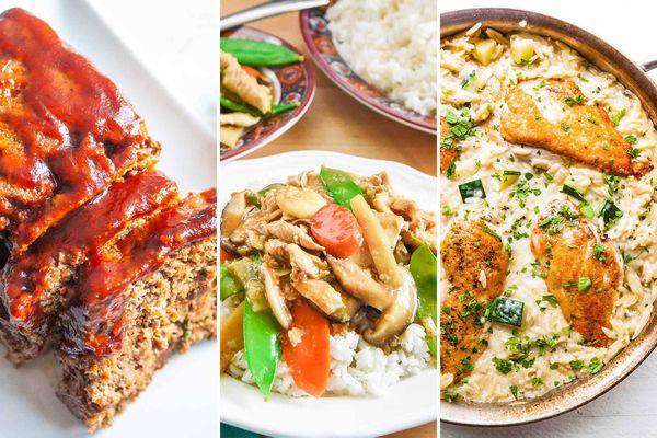 Simply Recipes 2019 Meal Plan: September Week 2