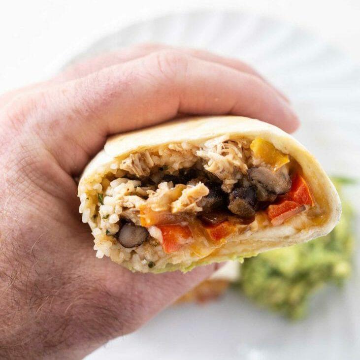 Freezer burrito filling