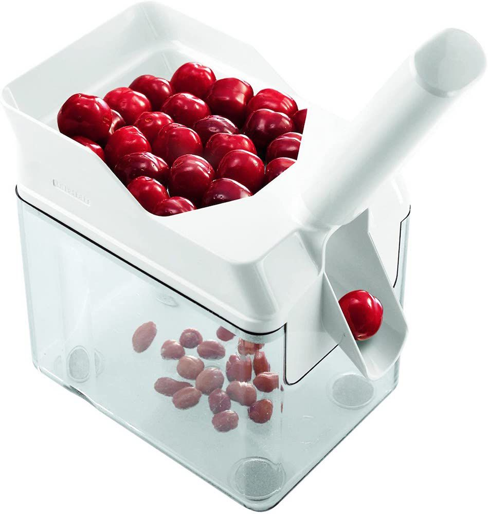 Leifheit Cherry Pitter with Stone Catcher Container