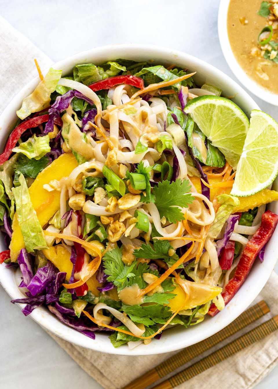 How to Make a Thai Noodle Salad