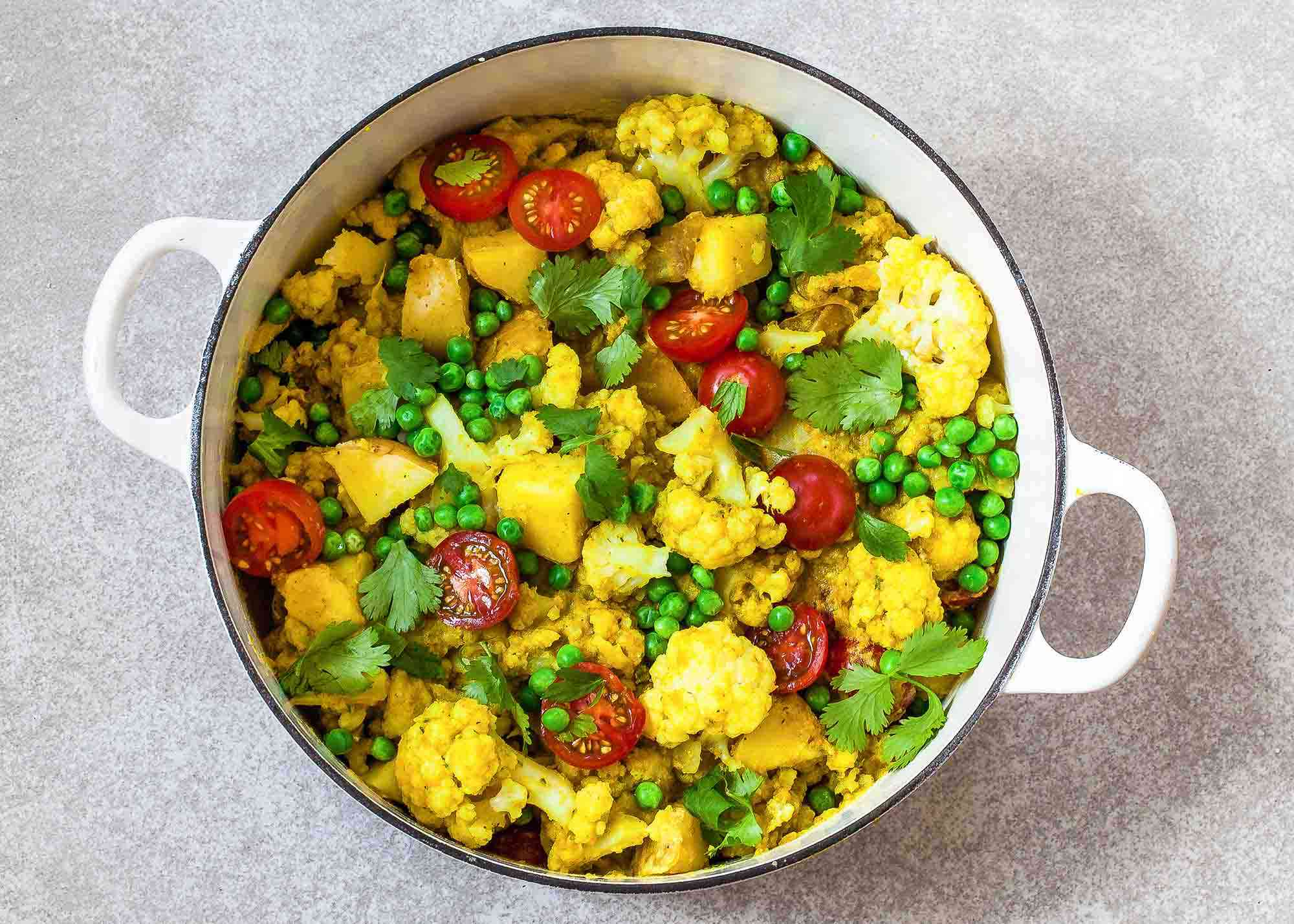Shahi Cauliflower Curry