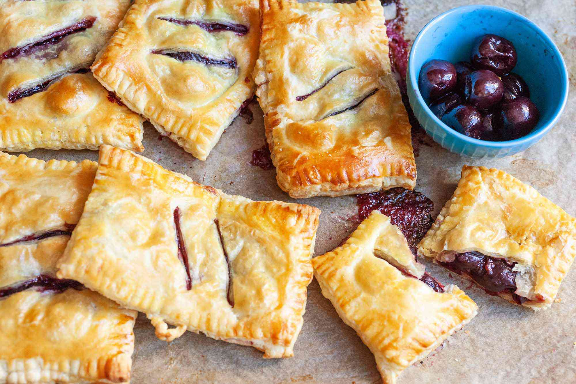 Cherry Hand Pies Recipe serve the pies